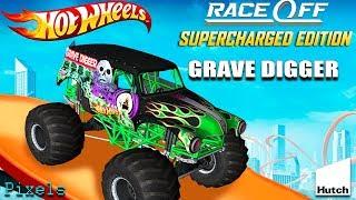 Hot Wheels Race Off - Grave Digger Monster Truck