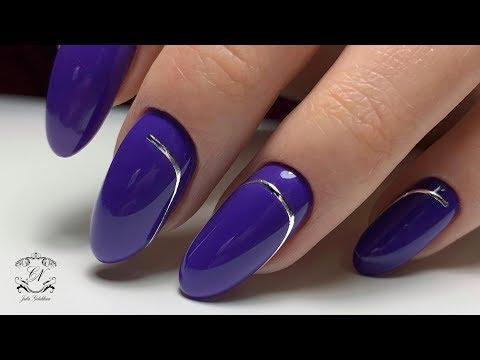 Полоски на ногтях дизайн как делать