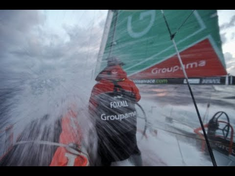 Volvo Ocean Race on Sailaway simulator Leg 2 Lisbon to Cape town