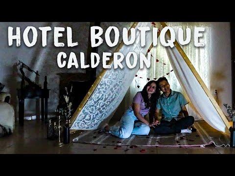 Hotel Romantico 💕 / Hotel Boutique Calderon/  Huasca de Ocampo / Todo Por Descubrir