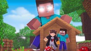 Minecraft: DESAFIO DA BASE 100% SEGURA CONTRA HEROBRINE GIGANTE ‹ JUAUM ›