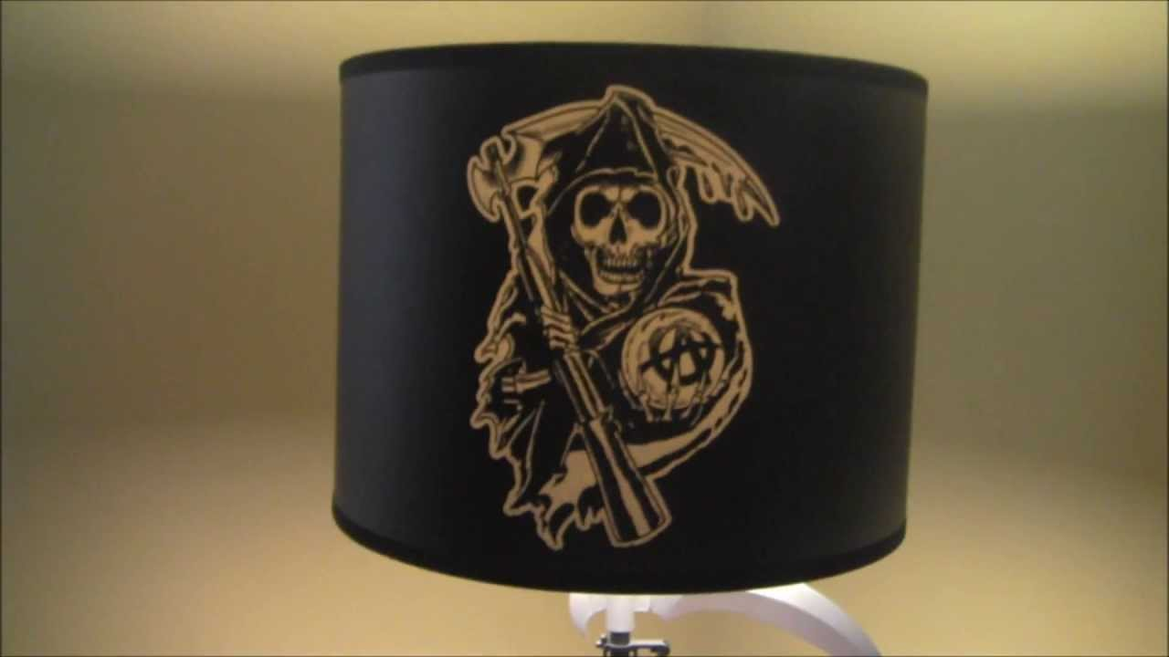Unboxing Sons of Anarchy Table Lamp - YouTube