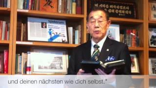 Grußbotschaft von Dr. James Kim Chin Kyung zum Christustag