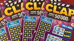 Loterie suisse romande avec des clap