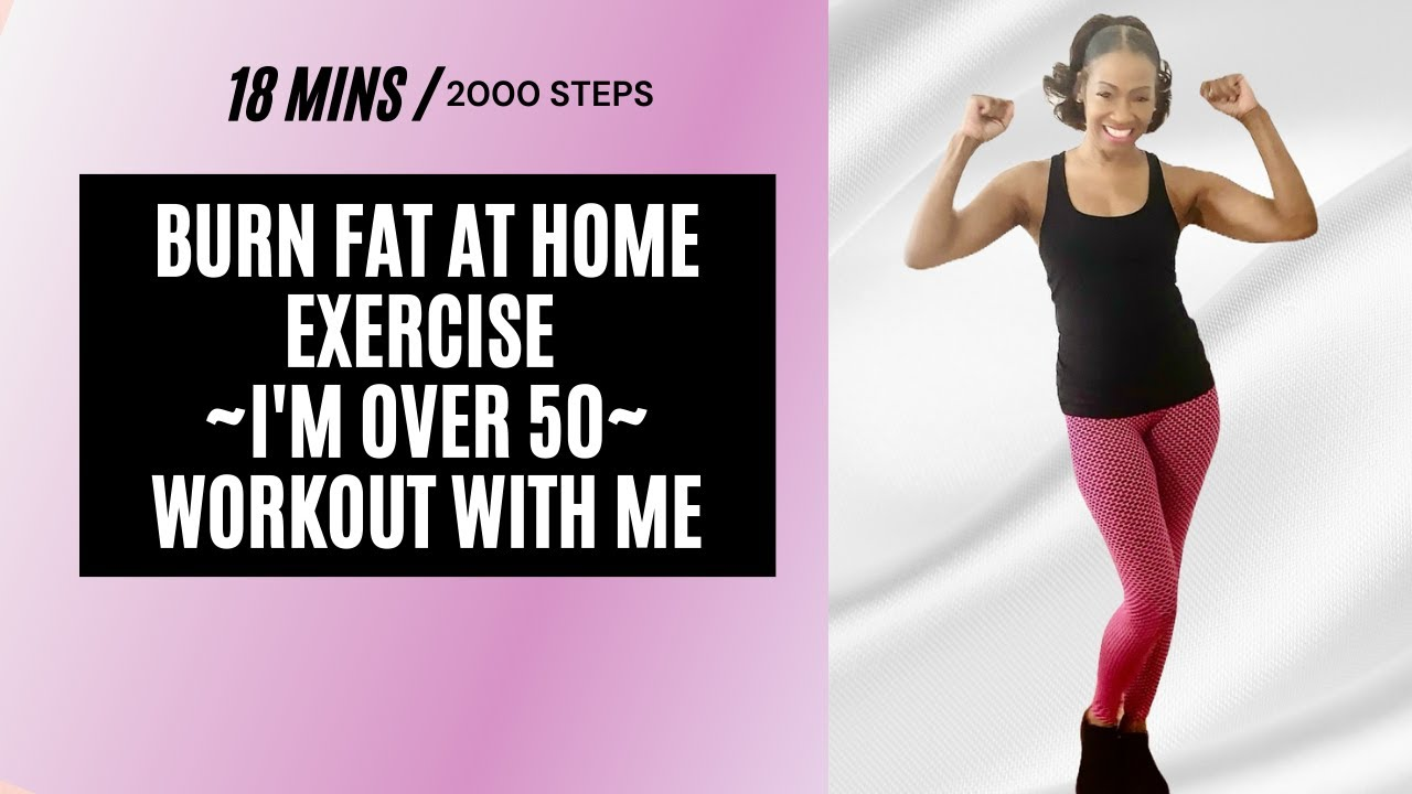 WORKOUT FROM HOME MADE EASY|BURN FAT|FITNESS TIPS FOR WOMEN OVER 50