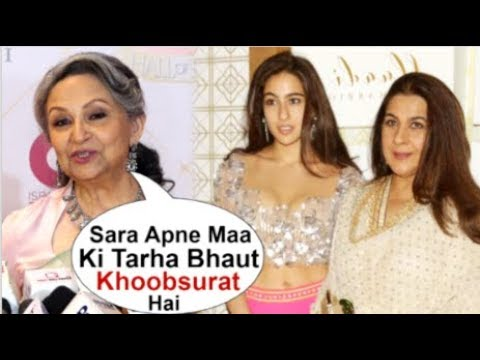Sharmila Tagore Openly SPEAKS About Sara Ali Khan & Amrita Singh For The First Time At Hello Awards