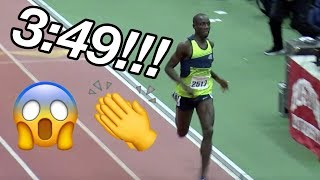 Crowd Goes Insane For Cheserek