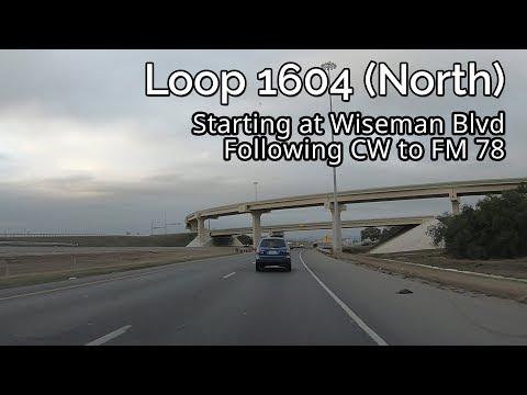 Loop SH 1604: San Antonio