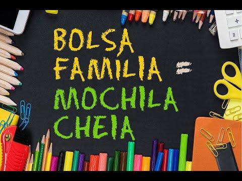 Bolsa família com direito a vale-material escolar