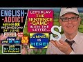 SUNNY WEDNESDAY / English Addict 88 - Live from England -  The Sentence Game with Mr Duncan