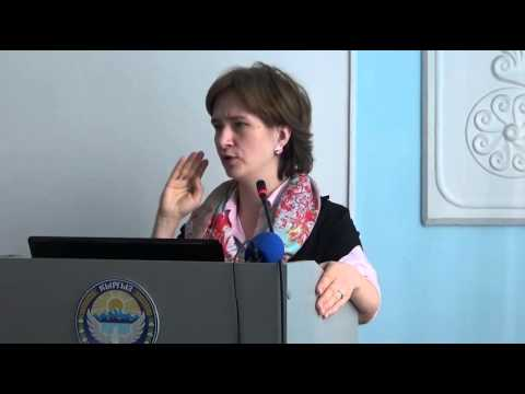 Water Management in Central Asia (Barbara JANUSZ-PAWLETTA, German-Kazakh University, Almaty)