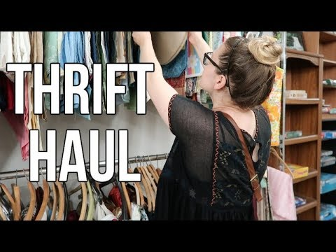 THRIFT HAUL   HOME DECOR, CLOTHING, & CLASSROOM FINDS!!!
