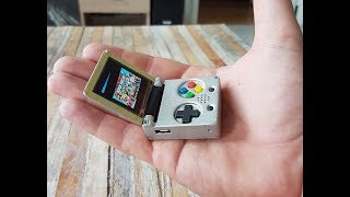 Keymu Demo  - open source keychain-sized gaming console
