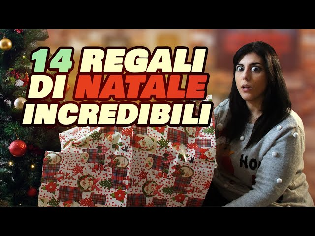 14 REGALI DI NATALE INCREDIBILI!!