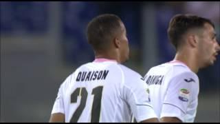 Il gol di Quaison - Roma - Palermo - 4-1 - Giornata 9 - Serie A TIM 2016/17