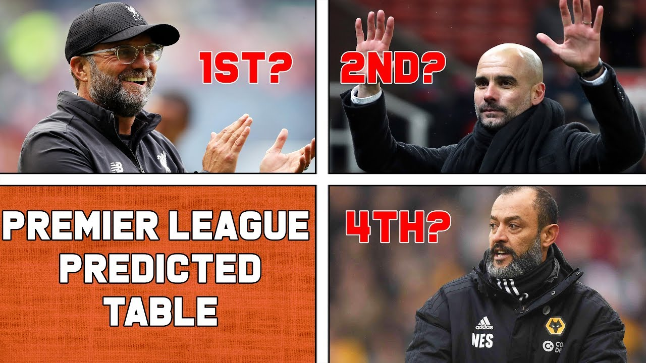 Premier League Predicted Table 2019-2020 | Who will win ...