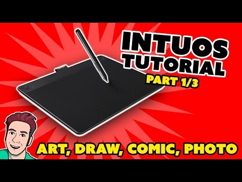 How to Install Wacom Intuos Art (Part 1/3)