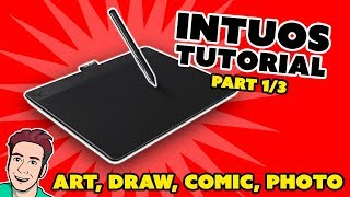 Wacom Intuos Installation TUTORIAL (Part 1/3)