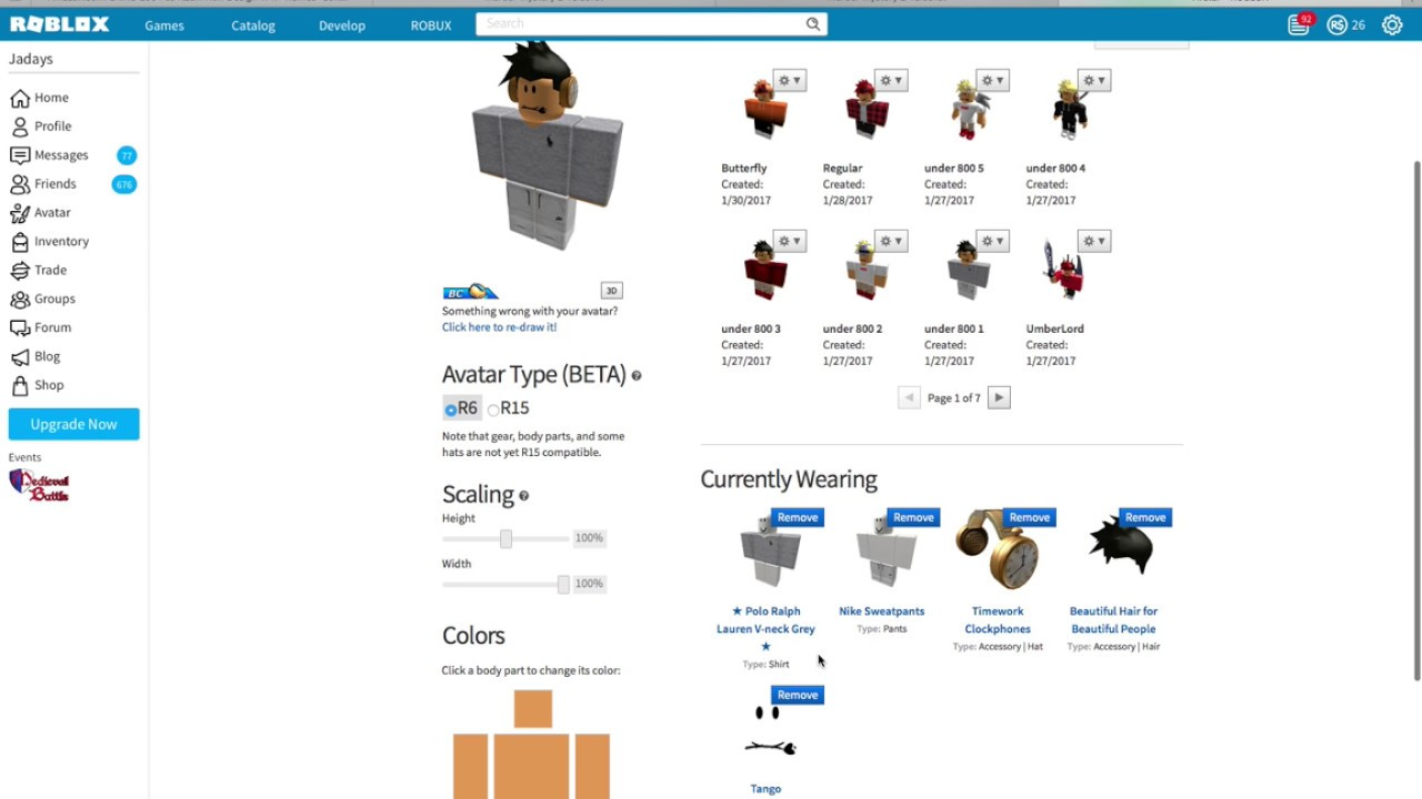 how to look cool on roblox without robux boy