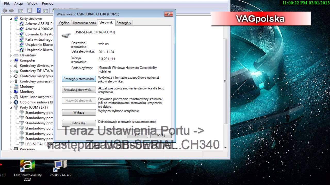 Kkl vag com 409 1 driver windows 7 youtube.