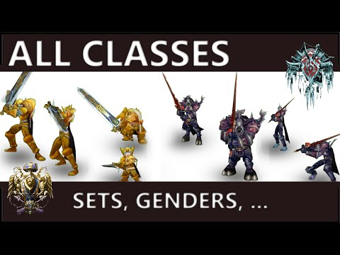 WOW CLASSIC: All Classes, Sets & Animations