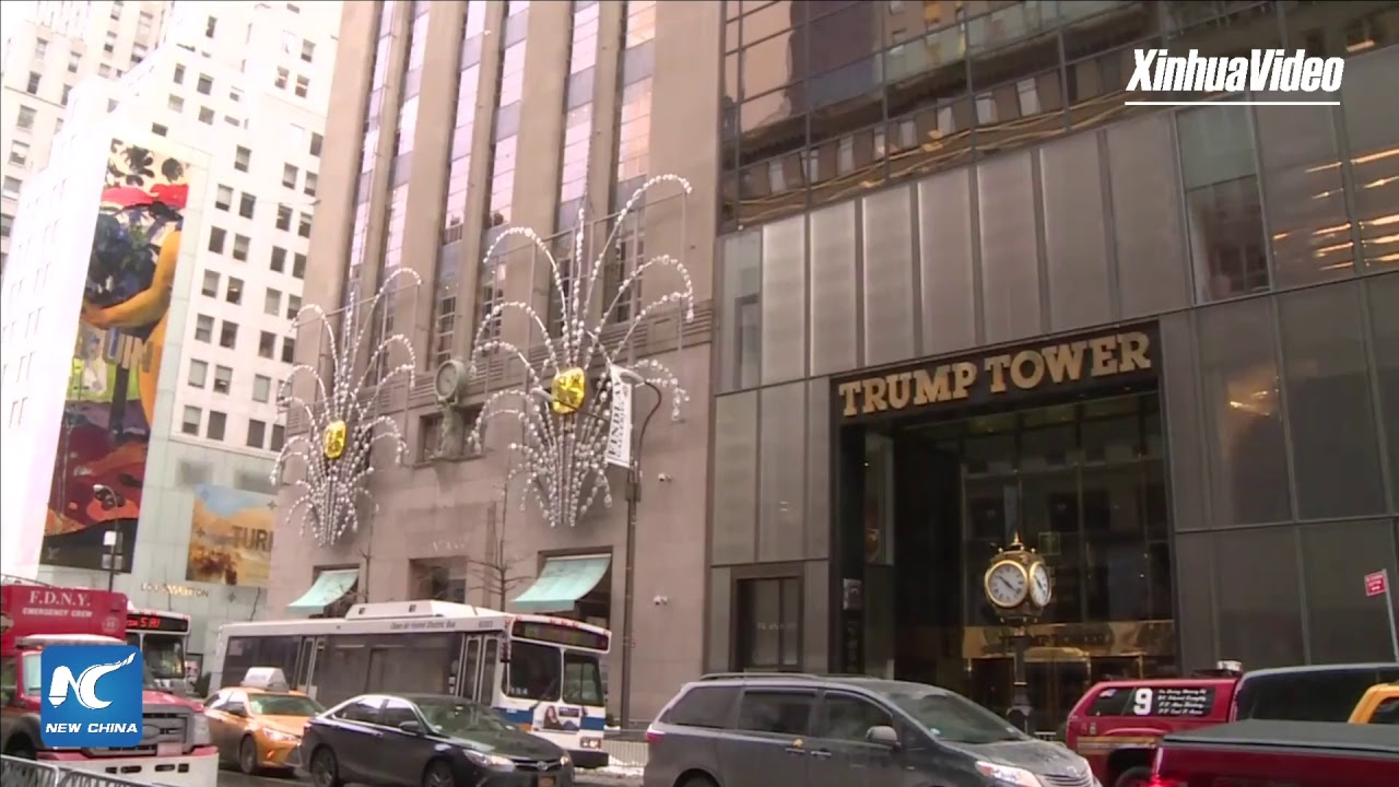 Small Fire Breaks Out on Trump Tower Roof