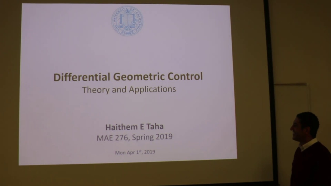 nonlinear geometric control theory - 1280×720