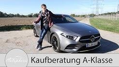 Kaufberatung Mercedes-Benz A-Klasse (W 177): Was lohnt sich und was lohnt sich nicht - Autophorie