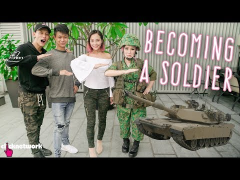 Becoming A Soldier Ft. Ah Boys To Men 4 Cast - Xiaxue's Guide To Life: EP210