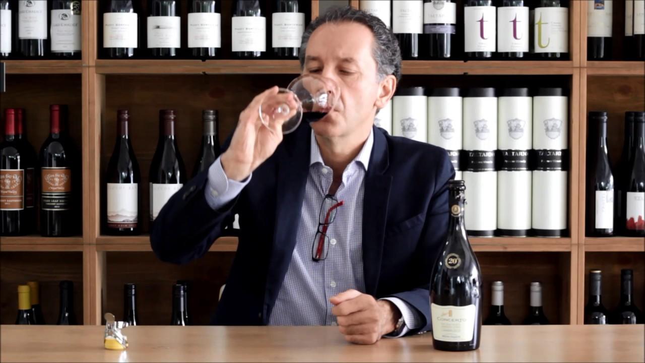 Loduca Lambrusco Wine - YouTube