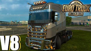 Euro Truck Simulator - Scania V8 High Roof Preview