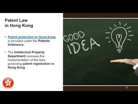 Patent Application in Hong Kong