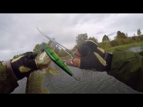 Рыбалка на р. Мокша (перевёртки как индикатор клёва)