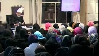 Gulshan-e-Waqfe Nau Lajna, 9 Jan 2010, Educational class with Hadhrat Mirza Masroor Ahmad(aba)