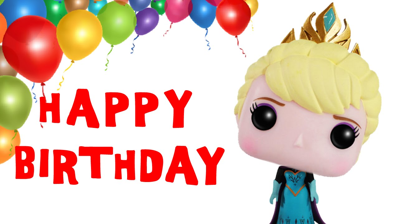 Frozen Elsa Sings Happy Birthday Song Greetings Frozen Theme – Birthday Song Greetings
