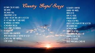 Gospel Country   Down On My Knees