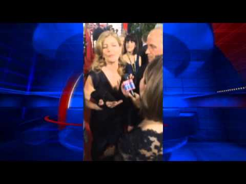 RAW VIDEO: Celebrities arrive at Golden Globe Awards Red Carpet