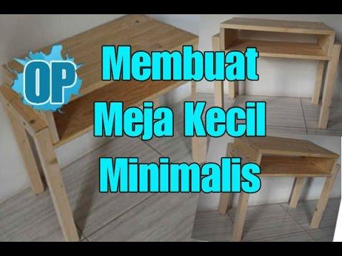 Bisa Dijual Untung Besar Cara Membuat Meja Kecil Side