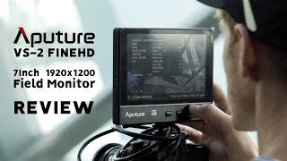 BEST 7INCH FIELD MONITOR - Aputure VS-2 FineHD monitor REVIEW, UNBOXING  & HOW TO