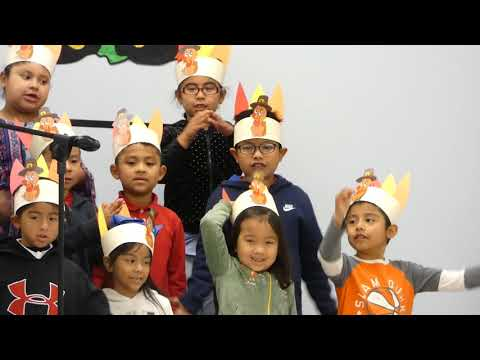 red bank primary school first grade thanksgiving