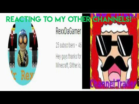 REACTING TO MY OLD CHANNELS: [400 subs special part 2]
