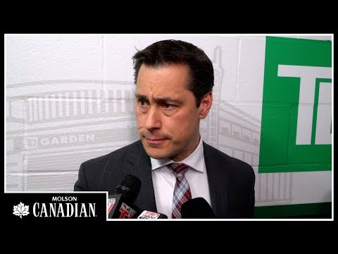 Sens vs. Bruins - Boucher Post-game