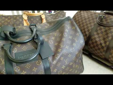 Louis Vuitton His & Hers Keepall Duffle Travel Set Recommendations Ideas Combinations