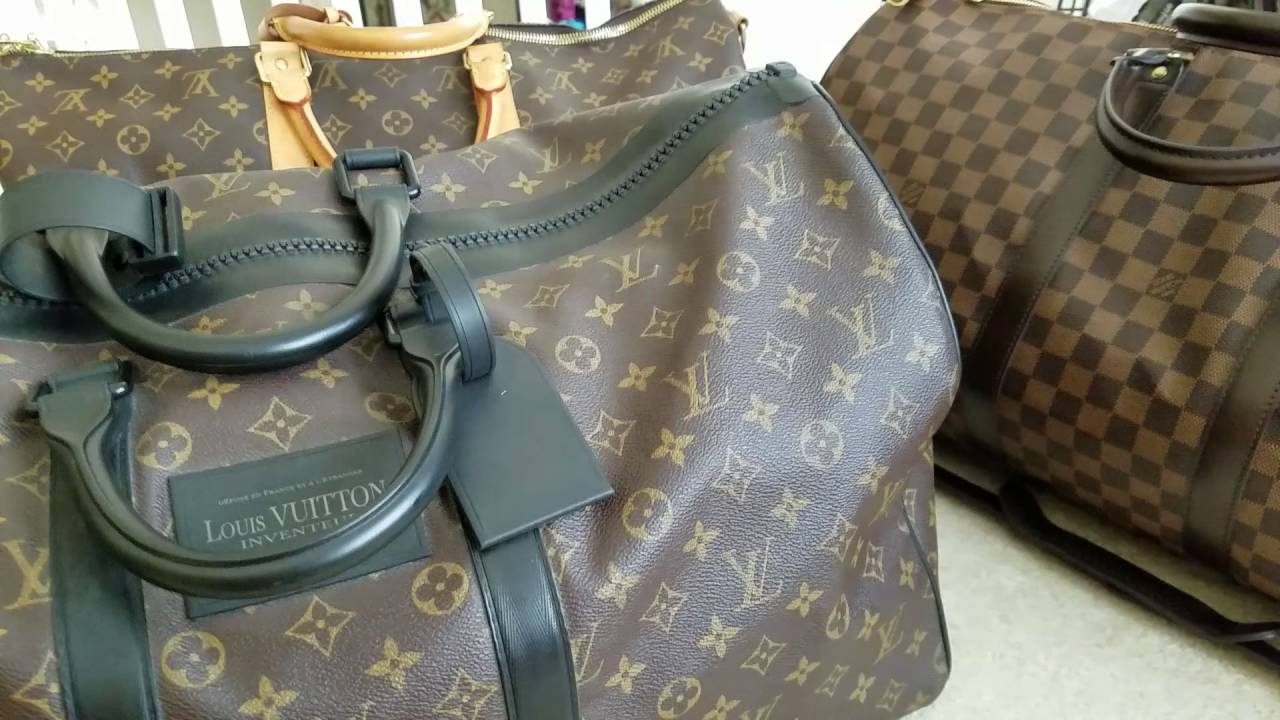 efa3093370 Louis Vuitton His & Hers Keepall Duffle Travel Set Recommendations Ideas  Combinations