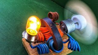 Electric Free Energy Device Using Power Magnet - New Science Technology Experiment Project 2018