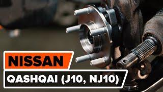 Sostituzione Ganasce freni a tamburo NISSAN QASHQAI: manuale tecnico d'officina