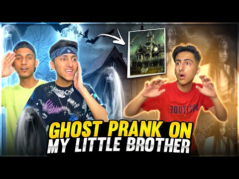 Ghost Prank On My Little Brother | Prank Gone Wrong 😭  | A_s Gaming - Garena Free Fire
