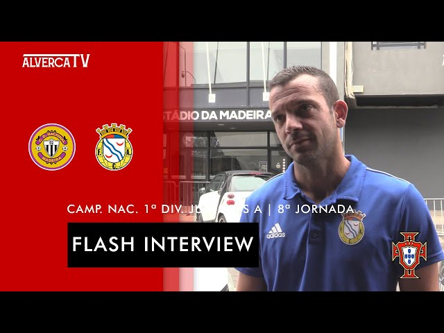 CD Nacional 3-1 FC Alverca   Flash Interview
