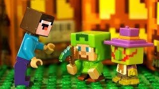 КокаТубе НУБик Лего Майнкрафт Мультфильмы для Детей - LEGO Minecraft Мультфильмы Animation