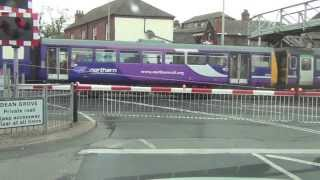 Grimsby Town West Level Crossing